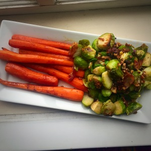 Caramelized Carrots & Southern Sweet Sporuts